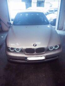 BMW 5 series, petrol, satnav, TV, 4x brand new Michelin tyres