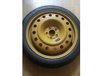 Brand new spacesaver wheel for subaru