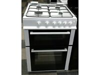 l391 white logik 60cm gas cooker comes with warranty can be delivered or collected