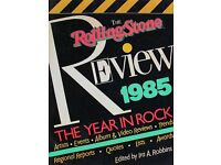 The Rolling Stones Review 1985 The Year in Rock / Paperback: 255 pages