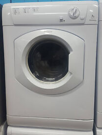 o328 white hotpoint 7kg vented dryer comes with warranty can be delivered or collected