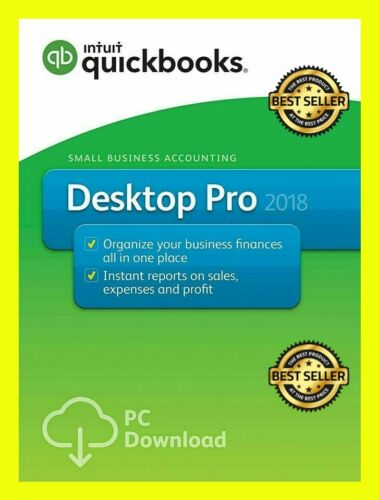 QuickBooks pro 2018 Desktop License key ✅Lifetime Activation✅