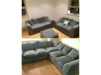 NEW LIVERPOOL CORNER SOFA & 3+2 SEATER SOFA SET AVAILABLE IN STOKE