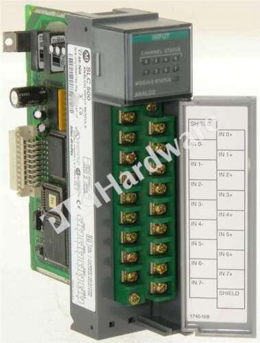 Allen Bradley 1746-NI8 /A 1746-N18 SLC 500 Input Analog Module 8-Ch FRN 1.0