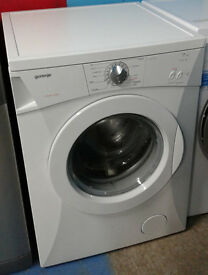 b472 white gorenje 7kg 1400spin washing machine comes with warranty can be delivered or collected