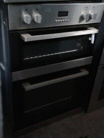 I218 stainless steel lamona double integrated electric oven comes with warranty can be delivered