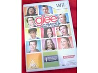 Wii GLEE KARAOKE GAME for sale Boxed £5