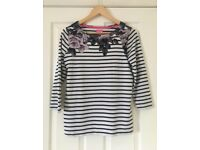 Joules Harbour Print Top - Size 14