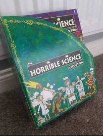 Collectable horrible science books