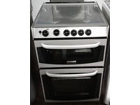 a503 silver cannon 55cm gas cooker comes with warranty can be delivered or collected