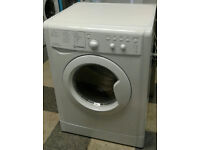 a241 white indesit 6kg&5kg 1200spin washer dryer comes with warranty can be delivered or collected