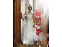 Ivory Wedding Dress Size 10
