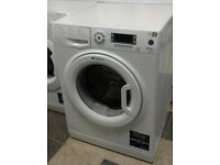 a139 white hotpoint 8kg 1300spin A+++ rated washing machine comes with warranty can be delivered