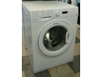 a713 white hotpoint 7kg 1400spin A** rated washing machine comes with warranty can be delivered