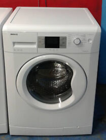 k407 white beko 8kg 1200spin A+ rated washing machine comes with warranty can be delivered