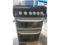 a477 black & silver cannon 50cm gas cooker comes with warranty can be delivered or collected