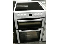 c431 white beko 60cm electric cooker comes with warranty can be delivered or collected
