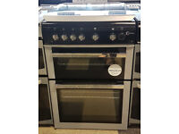 a437 black & silver flavel 60cm gas cooker comes with warranty can be delivered or collected