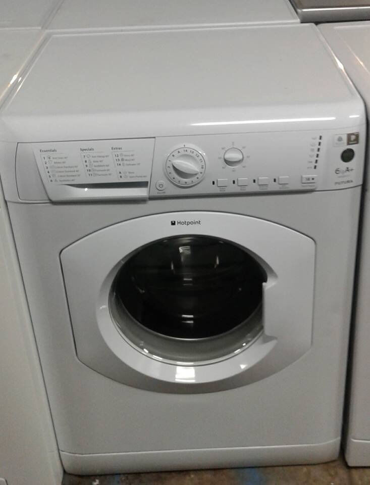 E333 white hotpoint 6kg 1350spin A rated washing machine comes with warranty can be deliveredin Leigh, ManchesterGumtree - Starting from £90 to £600 we have something for most budgets ✔Cookers ✔Washers ✔Dryers ✔Dish Washers ✔Refridgeration. Come with minimum 6 months parts and labour guarantee. Shop Address (Public Only 100 in stock) OPEN 7 DAYS MON TO SAT...