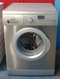 k406 stainless steel siemens 7kg 1200spin washing machine comes with warranty can be delivered