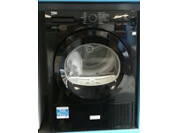 d307 black beko 7kg A++ heat pump condenser dryer new with manufacturer warranty can be delivered