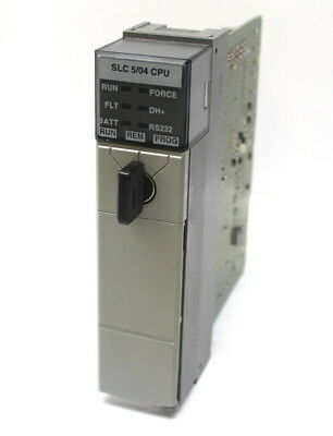 Allen Bradley 1747-l541b Rev. 3 Slc 500 504 Cpu Processor Unit