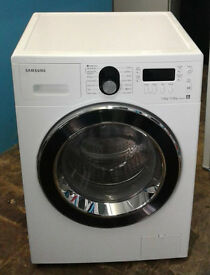 w322 white samsung 7kg&5kg 1400spin washer dryer comes with warranty can be delivered or collected
