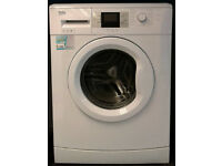 c691 white beko 7kg 1500spin A+++ rated washing machine comes with warranty can be delivered