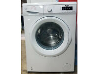 m494 white bush 7kg 1400spin washing machine comes with warranty can be delivered or collected
