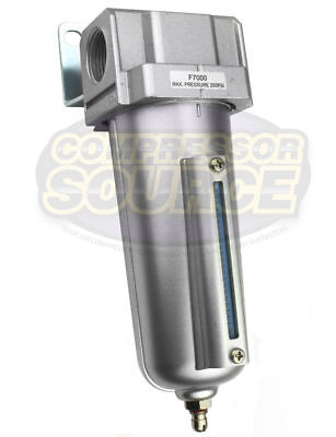 """1/2"""" Compressed Air In Line Moisture & Water Filter Trap Air Compressor F704 New"""