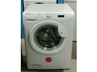 O198 white hoover 8kg 1400spin A+ rated washing machine comes with warranty can be delivered