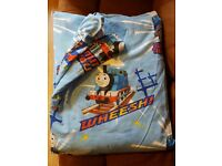 Thomas The Tank Engine toddler sized bed-in-a-bag duvet, duvet cover, pillow & pillow case & poster