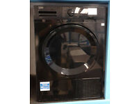 a140 black beko 7kg B rated condenser dryer new with manufacturers warranty can be delivered