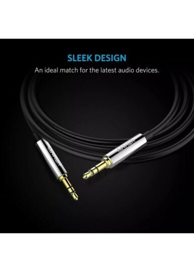 ANKER 3.5mm 4ft / 1.2m PREMIUM AUXILIARY AUDIO AUX CABLE for