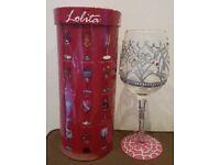 Lolita - My Tiara - sparkly glassware unused