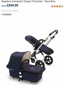 BUGABOO CHAMELEON 3 -SUPERB CONDITION! £500
