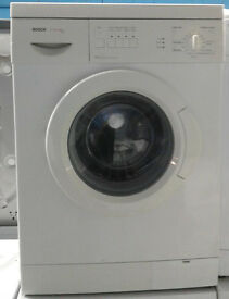 b421 white bosch 6kg 1200spin washing machine comes with warranty can be delivered or collected