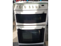 y474 white cannon 55cm gas cooker comes with warranty can be delivered or collected