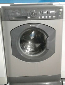 b369 graphite hotpoint 6kg 1400spin washing machine comes with warranty can be delivered
