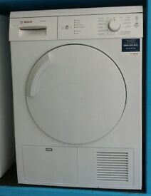 c012 white bosch 7kg condenser dryer comes with warranty can be delivered or collected