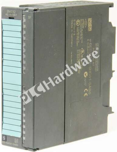 Siemens 6ES7332-5HD01-0AB0 6ES7 332-5HD01-0AB0 SIMATIC Current/Volt Output