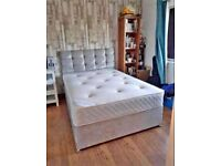 👌🏻👌🏻Brand new Divan beds with headboard and mattress