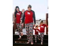 Matching family Christmas pyjamas