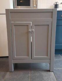 Grey Vanity Unit - 600 x 385 x 800mm