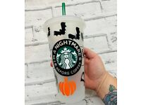 Personalised Starbucks cups