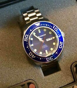 Brand new Aragon Divemaster EVO divers watch