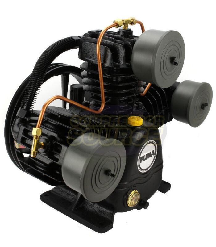 Puma 3 Cylinder 1 Single Stage Cast Iron Air Compressor Pump 22 SCFM