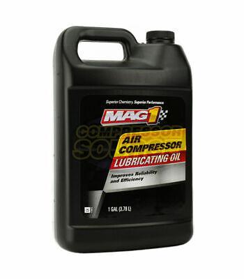 1 Gallon Gal Iso-100 Non Detergent Air Compressor Oil Lube Jug Lubricant Sae 30w