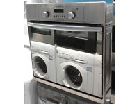 E215 stainless steel & mirror finish hotpoint single electric oven comes with warranty can deliver