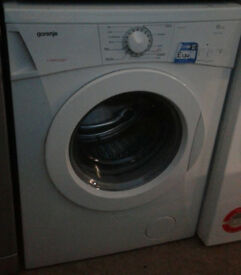k302 white gorenje 6kg 1100spin washing machine comes with warranty can be delivered or collected